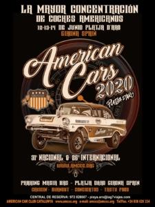 American Cars Platja d'Aro 2020 @ Platja d'Aro