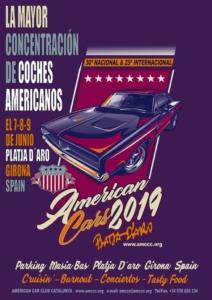 American Cars Platja d'Aro 2019 @ Platja d'Aro